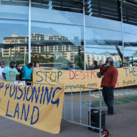 Indigenous groups band together to stop fracking on their land