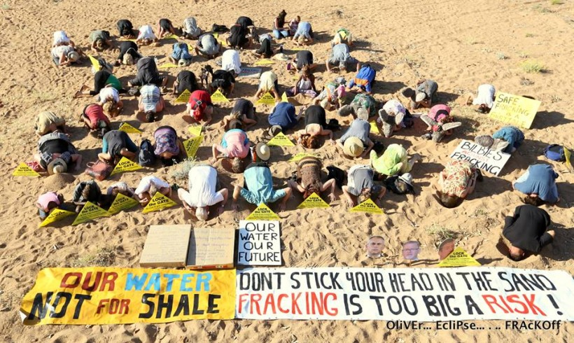 STAND UP AGAINST FRACKING!!