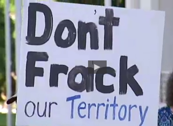 Fracking companies acknowledge environmental risks