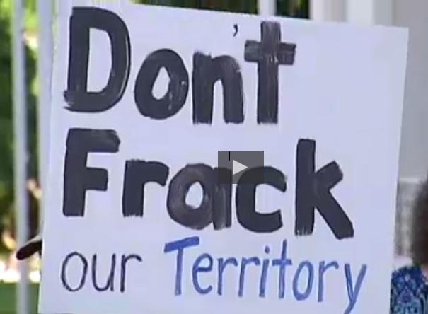 Fracking companies acknowledge environmental risks