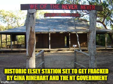 Rinehart and shale gas companies licensed to frack Indigenous and Pastoral Land