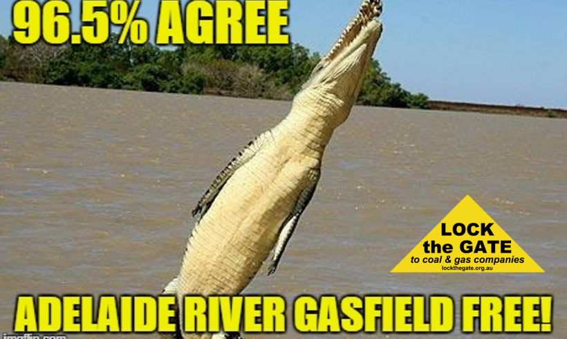 Adelaide River Community first in Territory to vote 'YES' to being Gasfield Free