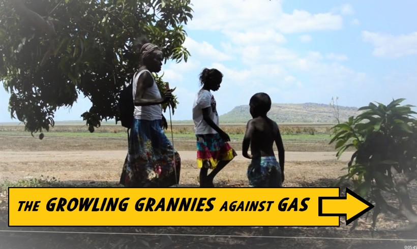 Look out: The Growling Grannies against Gas have launched!