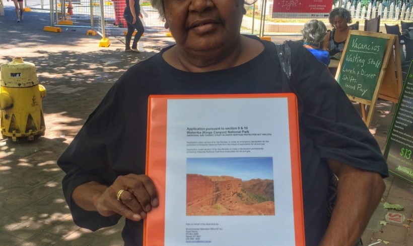 NT Government rejects Watarrka National Park gas exploration: full protection still needed