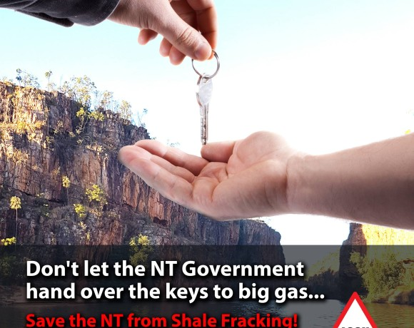 'Sweetheart' coal deal shows NT Govt not trustworthy on mining or fracking regulation