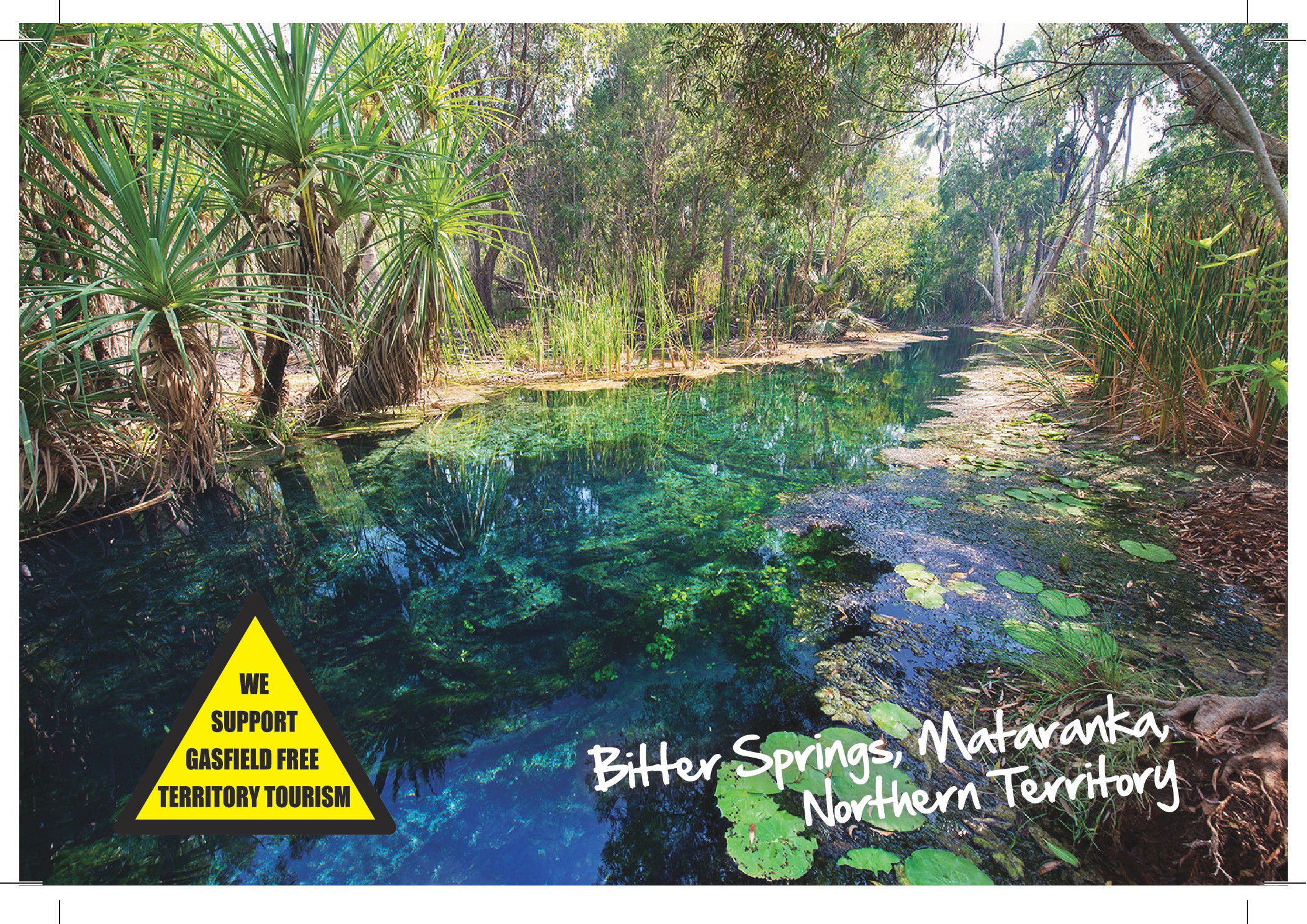 Bitter Springs catchment under threat from fracking gasfields