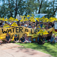 Over 500 unite in Darwin to protect NT from fracking gasfields
