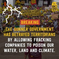 Media release: Chief Minister's frack decision a betrayal of science and communities
