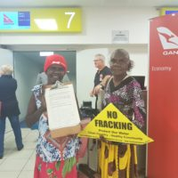MEDIA RELEASE: Traditional Owners launch campaign challenging Origin Energyover NT fracking consents