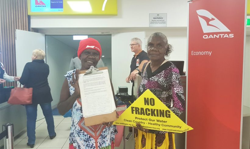 MEDIA RELEASE: Traditional Owners launch campaign challenging Origin Energy over NT fracking consents